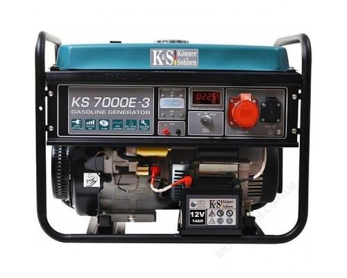 Бензиновий генератор Könner&Söhnen KS 7000E-3 ATS