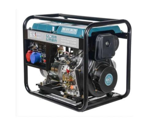 Дизельний генератор Könner&Söhnen KS 9100 HDE-1/3 ATSR