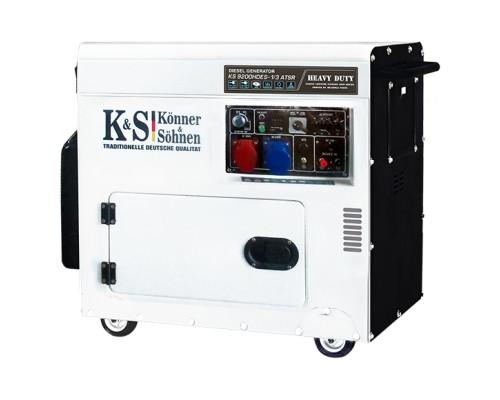 Дизельний генератор Könner&Söhnen KS 9200 HDES-1/3 ATSR