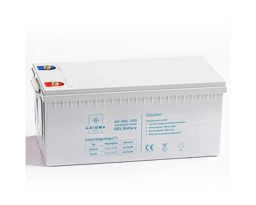 Аккумуляторная батарея Axioma Energy AX-GEL-200