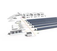 Промышленная система солнечных электростанций 1 мВт и выше