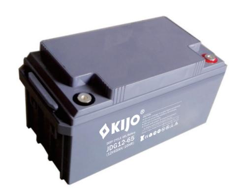 Акумуляторна батарея Kijo JDG 12-65 GEL