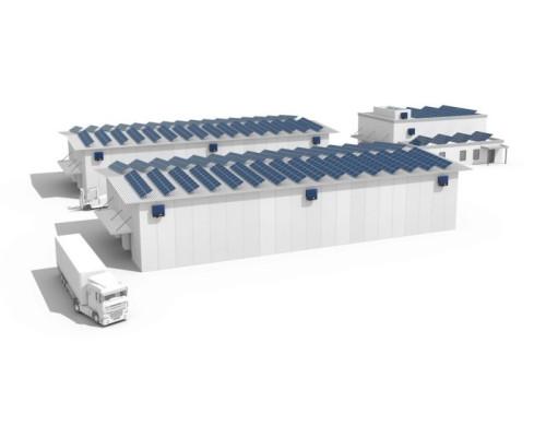 Сетевая СЭС для коммерческих объектов 30 кВт