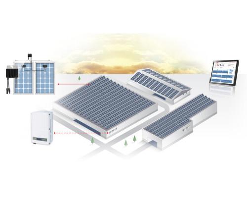Сетевая СЭС для коммерческих объектов 300 кВт