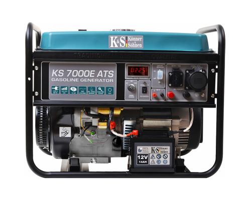 Бензиновый генератор Konner&Sohnen KS 7000E-ATS