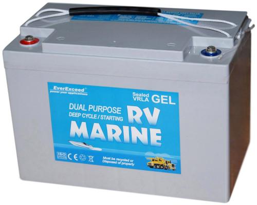 Аккумуляторная батарея EverExceed Marine Gel Range 8G27M (12V100Ah)