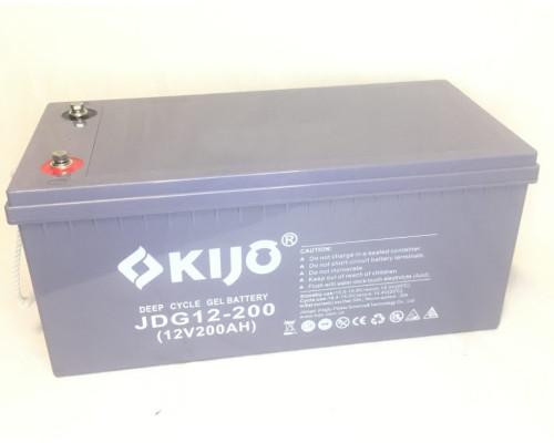 Аккумуляторная батарея Kijo JDG 12-200 GEL