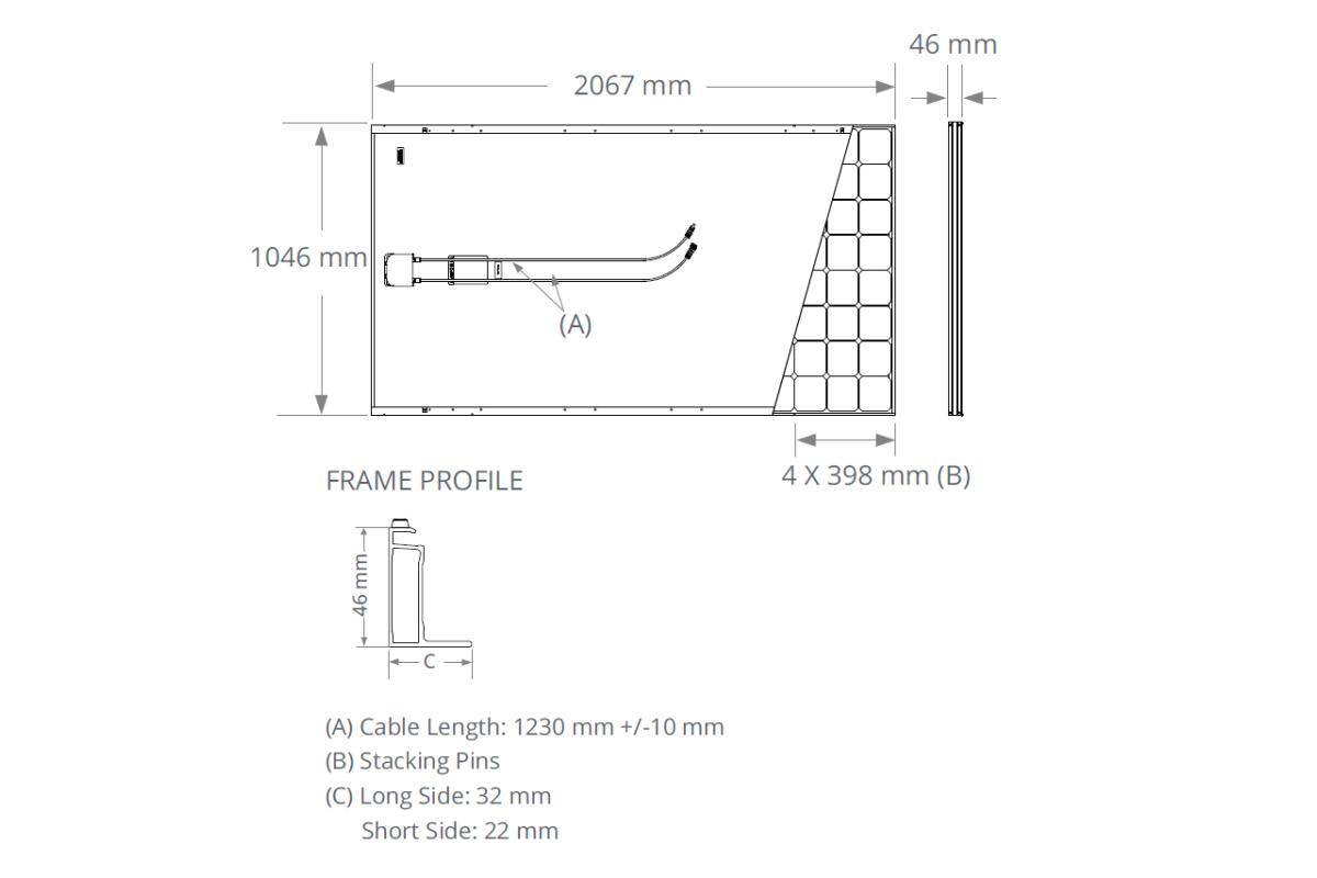 Солнечная панель SunPower E-Series SPR-E20-435-COM